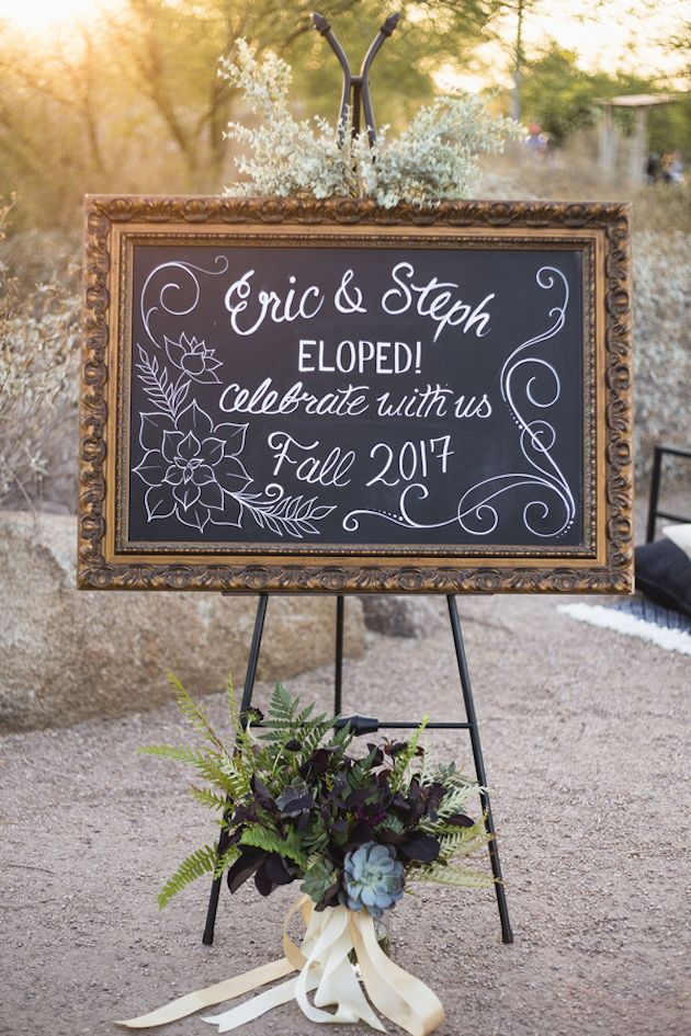 Cool Desert Elopement Picnic | A Travelers Heart | Bridal Musings Wedding Blog 1