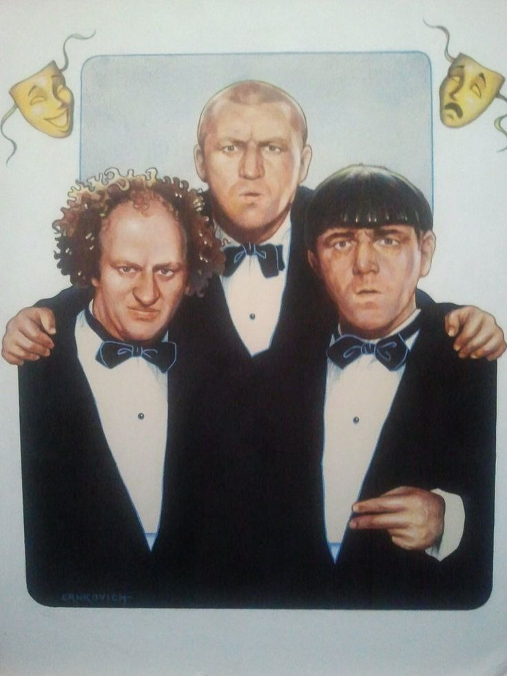an examination of the comedy of the three stooges In the annals of classic screen comedy, there are perhaps no more hotly debated yet enduring comedians than the three stooges a vaudeville, and later movie, team that underwent several personnel changes over the decades, the three stooges were originally teamed up under the guidance of ted healy .