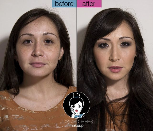 Josla Makeup: Antes y después... Rocio