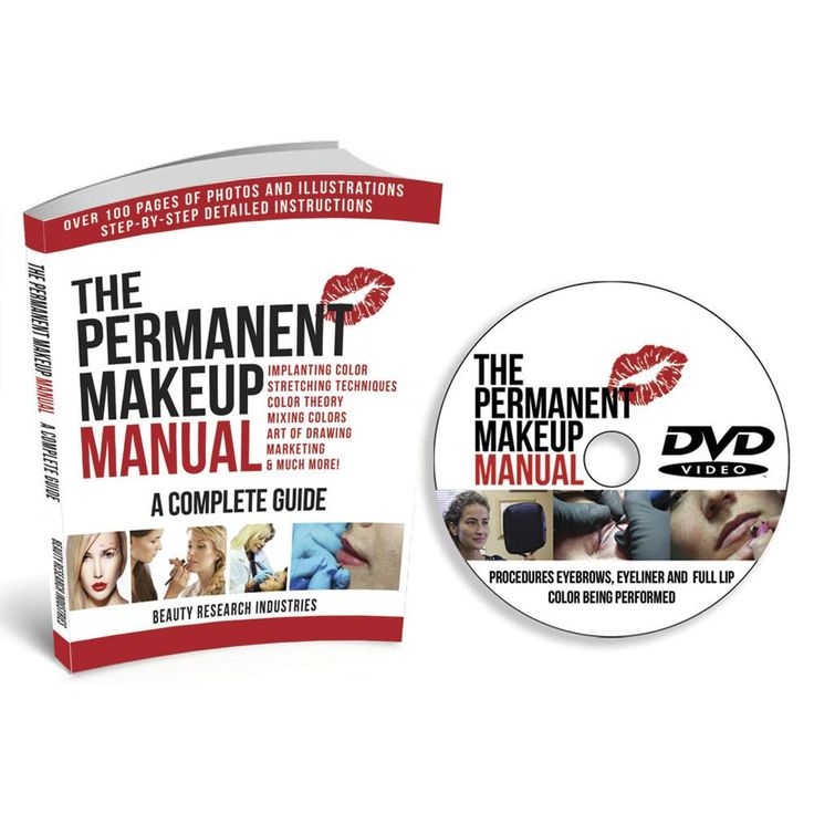 New product Alert: The Permanent Mak...  *** Check it out here!  ***  http://www.monstersteel.com/products/the-permanent-makeup-manual-guide-instructional-book-with-dvd?utm_campaign=social_autopilot&utm_source=pin&utm_medium=pin