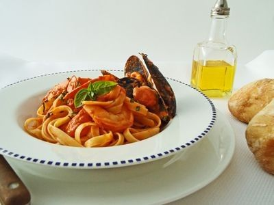 Seafood Marinara recipe