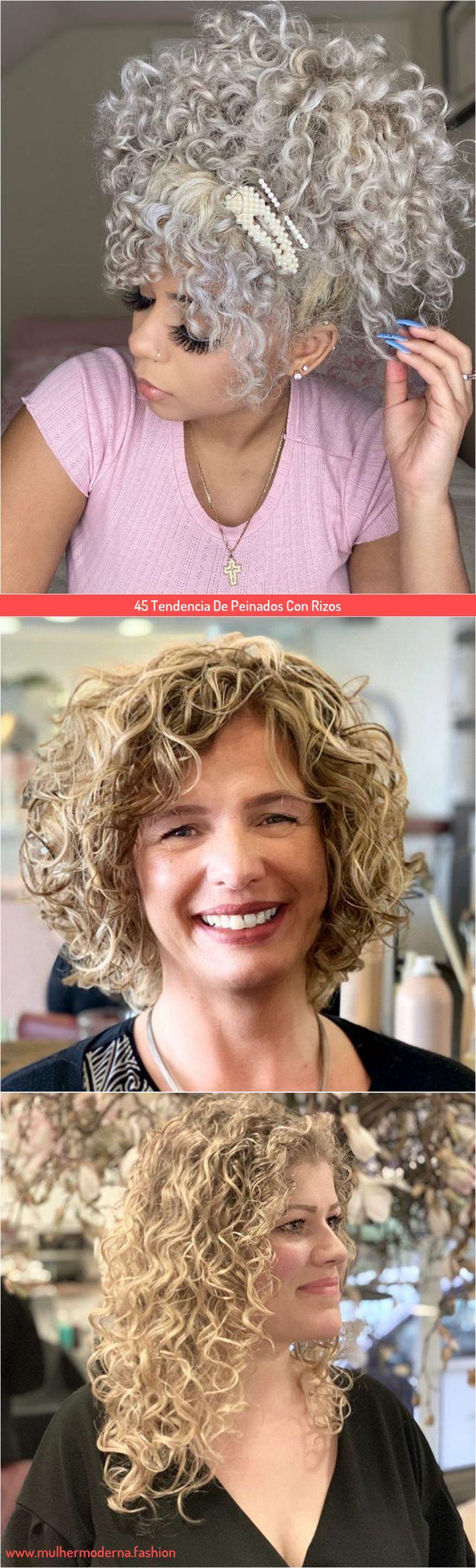 Atrevido y bonito peinados con rizos Colección De Consejos De Color De Pelo - 45 Tendencia De Peinados Con Rizos en 2020 | Peinados con ...