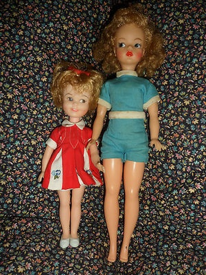 Penny Brite & Tammy. I still have Penny Brite in her little dress. Maybe Tammy too. Tammy had a sister named Pepper, but I no longer have her.