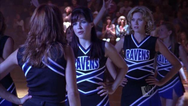 Rachel vs Brooke during March Madness in season 3. #OneTreeHill