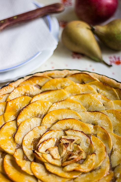 French apple tart « Tina