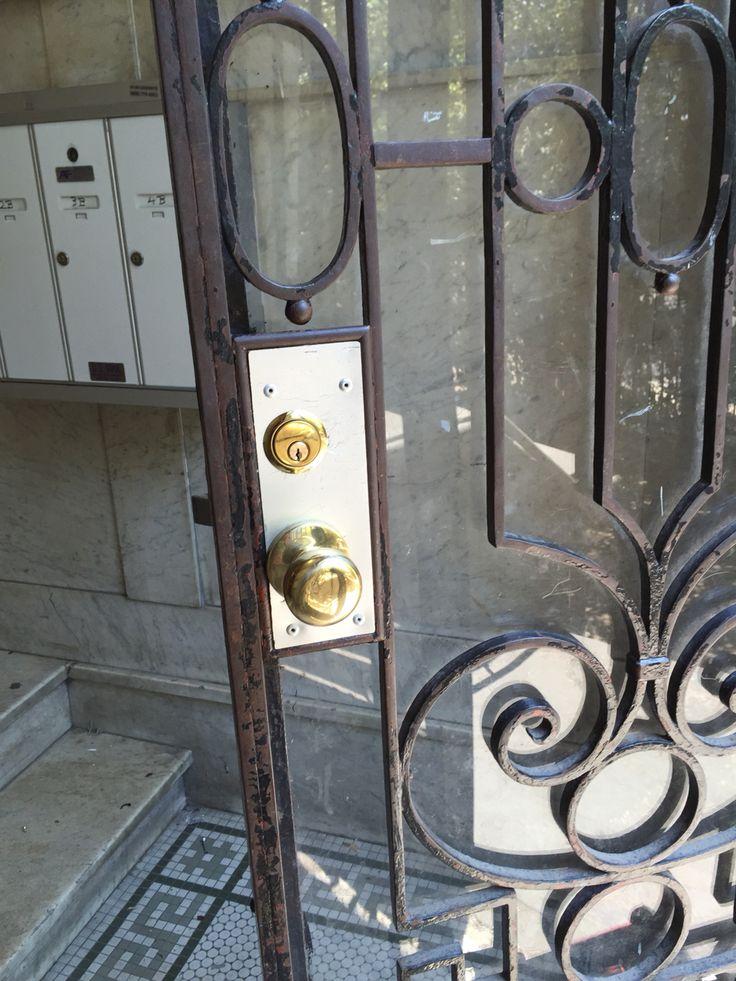 Front door Mortis lock