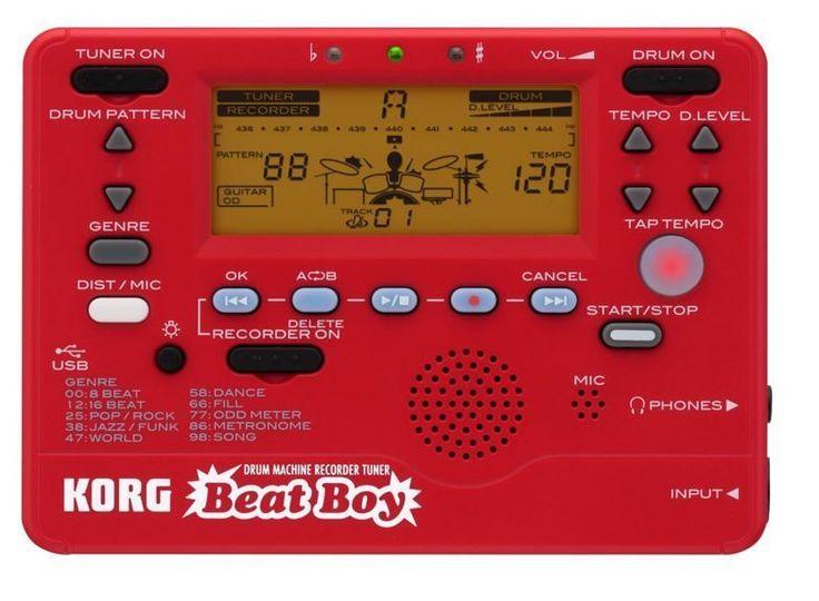 KORG Beat Boy Guitar Bass Drum Machine Recorder Tuner Metronome F/S Airmail #KORG
