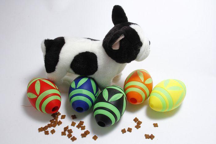 Noctilucent Oval Football Pet Toys Silica Gel Material Pet