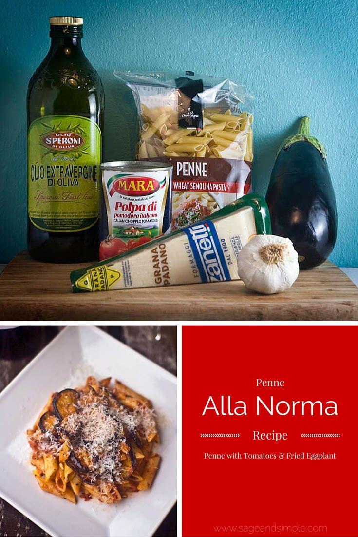 Penne Alla Norma: delicious authentic Italian meal!
