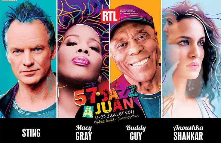 Festival Jazz à Juan 2017 : Sting, Macy Gray, Jamie Cullum et Tom Jones en concert sur la Côte d'Azur. Découvrez le programme complet de a 57è édition du Jazz à Juan, le festival de Jazz d'Antibes, sur le blog Mister Riviera, le blog sur les actualités de la Côte d'Azur.