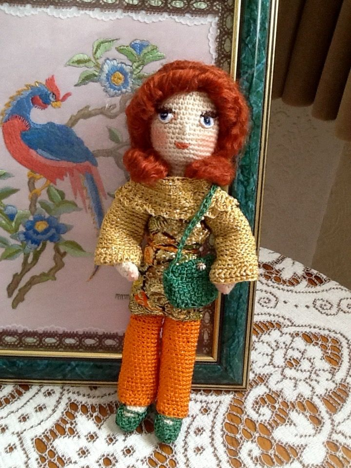 """Jenny, my new """"Little Hippy"""" doll"""