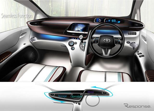 【トヨタ シエンタ 新型発表】ステアリングの上から視認する「ハイポジションコンビネーションメーター」 | st3 | GAZOO.com