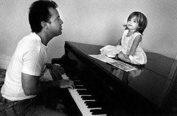 Billy Joel serenades daughter Alexa.