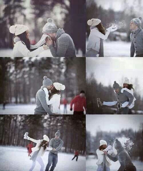 I met the love of my life in the winter, 3 years ago, and the season always brings back memories of those first special moments together.