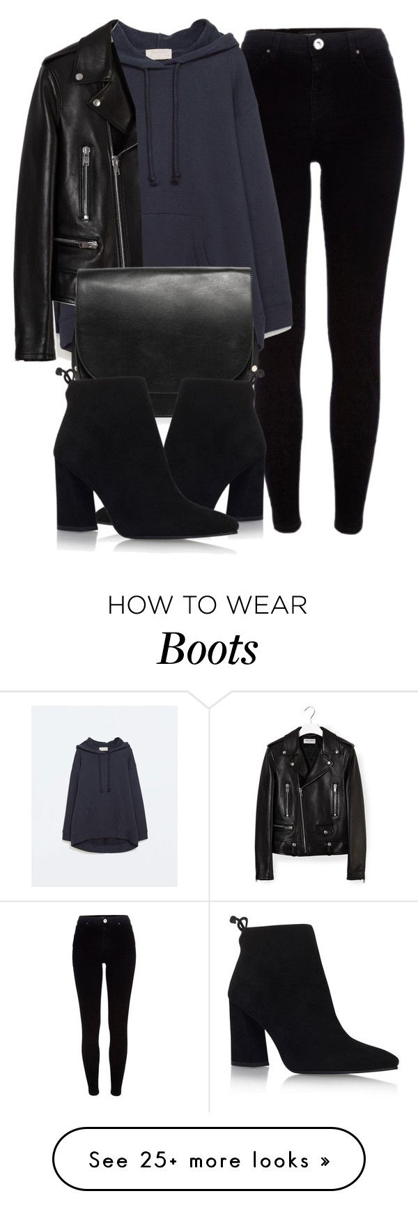 """Untitled #5379"" by laurenmboot on Polyvore featuring River Island, Zara, Yves Saint Laurent, MANGO and Stuart Weitzman"