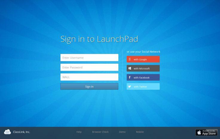 #login tablet app #design