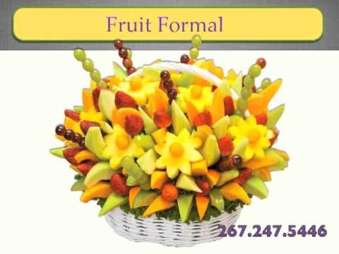 How to make a DO IT YOURSELF edible fruit arrangement!!