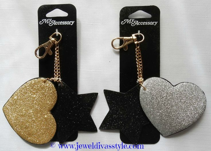 JDS - STAR HEART KEY RINGS Found these in a local cheap chain store