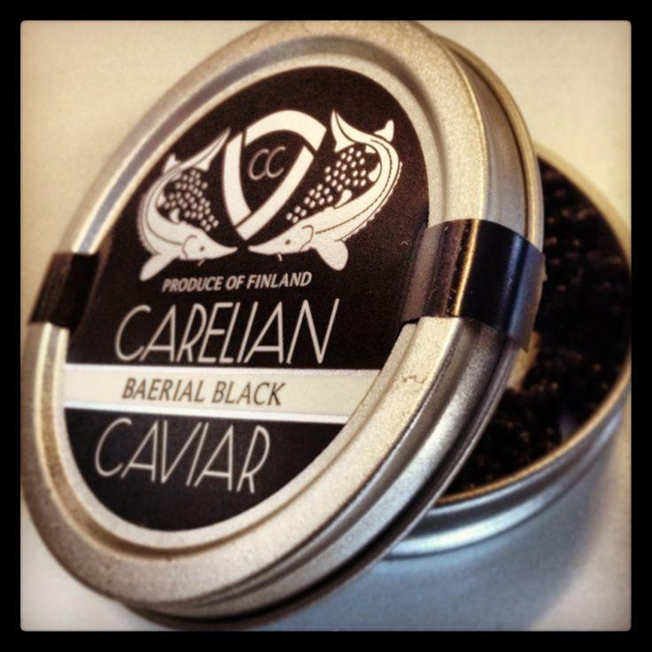 Caviar at Sturgeon Farm on Varkaus Finland