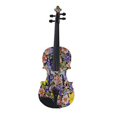 Flower Violin.,
