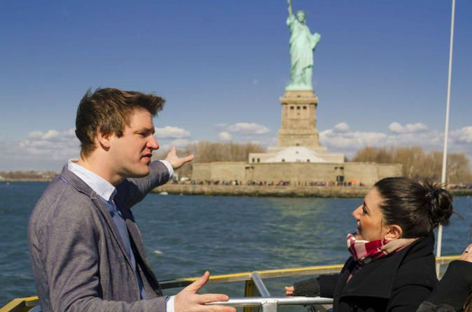 Statue of Liberty and Ellis Island Tour Including Pedestal Access, Lower Manhattan Sightseeing and One World Observatory Guarantee your visit to the One World Observatory with a pre-reserved ticket, and spend the day on a guided tour of Lower Manhattan sights. This full-day excursion begins with a ferry ride to the Statue of Liberty and Ellis Island and includes access to the pedestal of Lady Liberty for panoramic views of New York City. Then visit 9/11-related sites like St ...