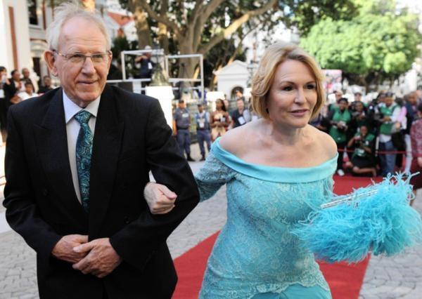 SONA 2013 Fashion   Wester Cape Premier Helen Zille and her husband prof Johann Maree   IOL.co.za