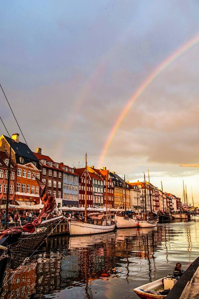 Wonderful Copenhagen Nyhavn Sankthans Summer Rainbow - Nick Karvounis Photography