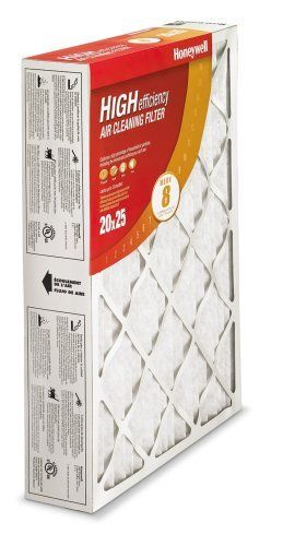 Honeywell CF100A1025 4-Inch High Efficiency Air Cleaner Filter by Honeywell. $19.99. From the Manufacturer                You can improve the air quality in your home with Honeywell's CF100A1025 4-Inch High Efficiency Air Cleaner Filter (20 x 25 x 4 inches). Today's tightly-built homes trap dust, allergens and more, which explains why poor indoor air quality ranks among the top five environmental risks to public health. Honeywell Air Filters are significantly mo...
