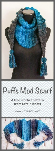 This free modern crochet pattern is a perfect one skein project perfect for the hectic holiday season! A simple project to learn and made with one skein of @lionbrandyarn Scarfie yarn. Add optional tassels for an extra modern twist. n