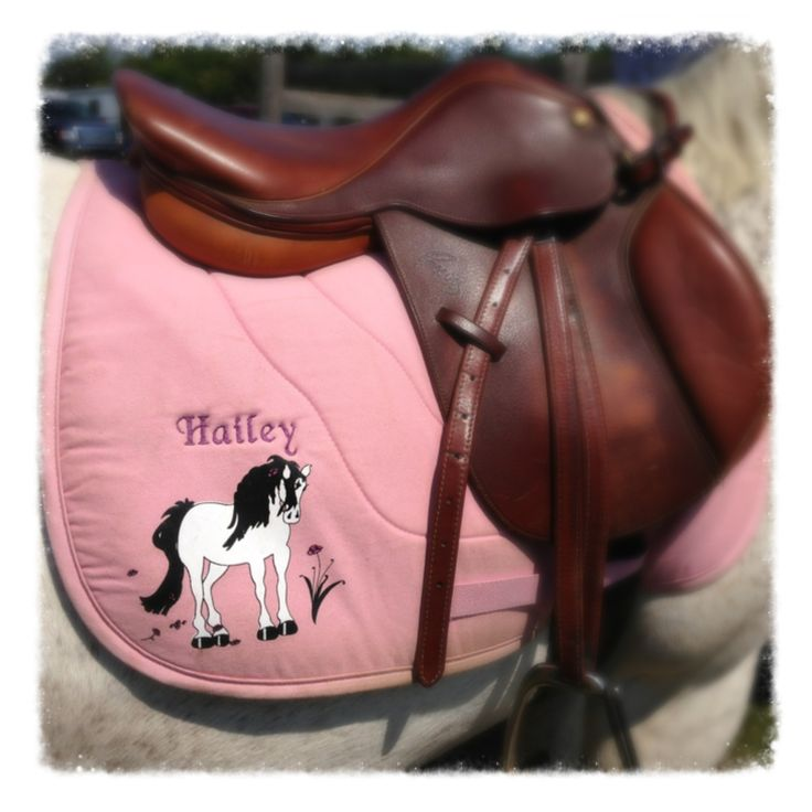 Adorable pony saddle pad.   Pic- ShoMe Shows www.shomeshows.com