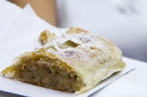 A Traditional Recipe for Flaky Hungarian Apple Strudel: Hungarian Apple Strudel