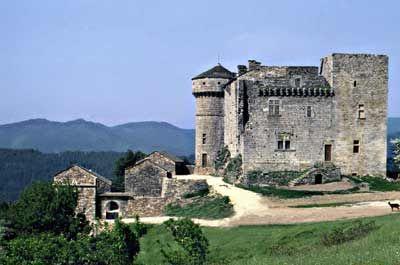 Reportage sur le château du Cheylard