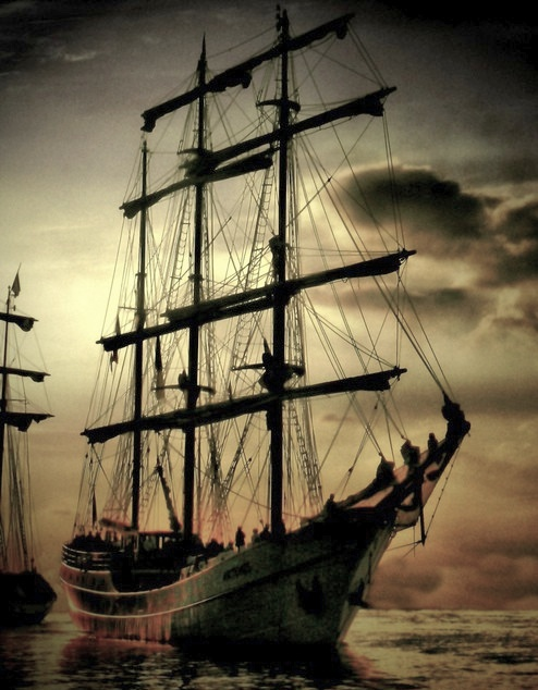 I find these tall ships so romantic....Sail Bremerhaven,  Photos by mjb_germany