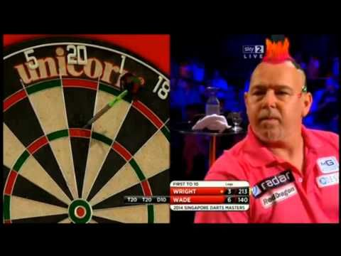 PDC Singapore Darts Masters 2014 - Quarter-Finals - James Wade vs. Peter Wright - http://dartshq.risingflowmedia.net/pdc-singapore-darts-masters-2014-quarter-finals-james-wade-vs-peter-wright/