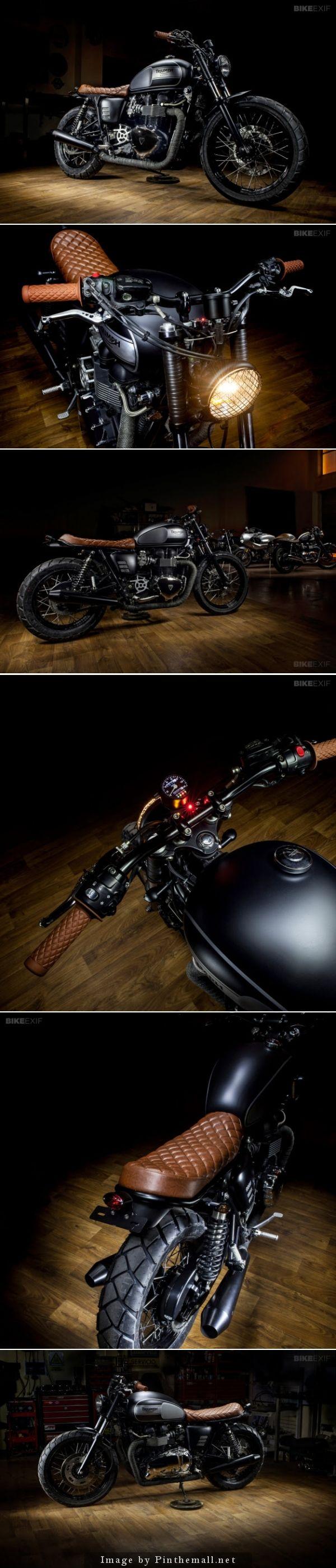 Bonneville T100 by Maccomotors Click to read more about