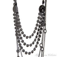 Ruthenium Neckpiece - Everyday Terrific - United States - Fifth Avenue Collection - Jewellery that changes the way you see fashion