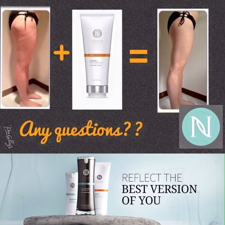 Sexier legs for sure! Not from excessive. Not from dieting. From a simple lotion! Nerium Firming Cream will Smooth, Tone and Tighten. No more cellulite for this lady!! Get your legs ready for summer starting today!