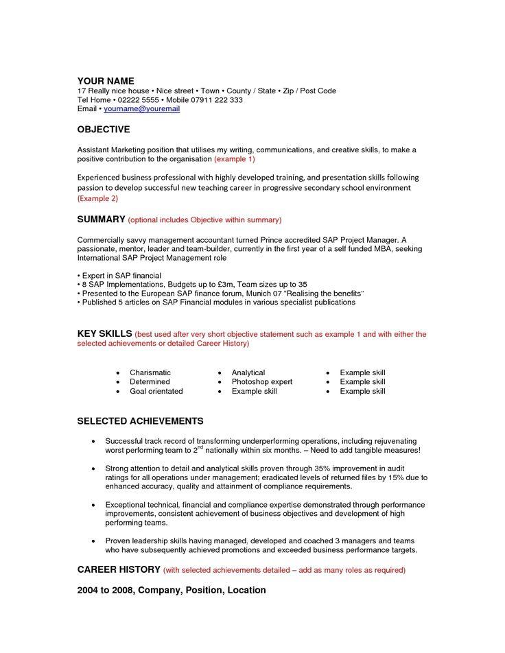 career change resume objective examples template online for denial letter sample