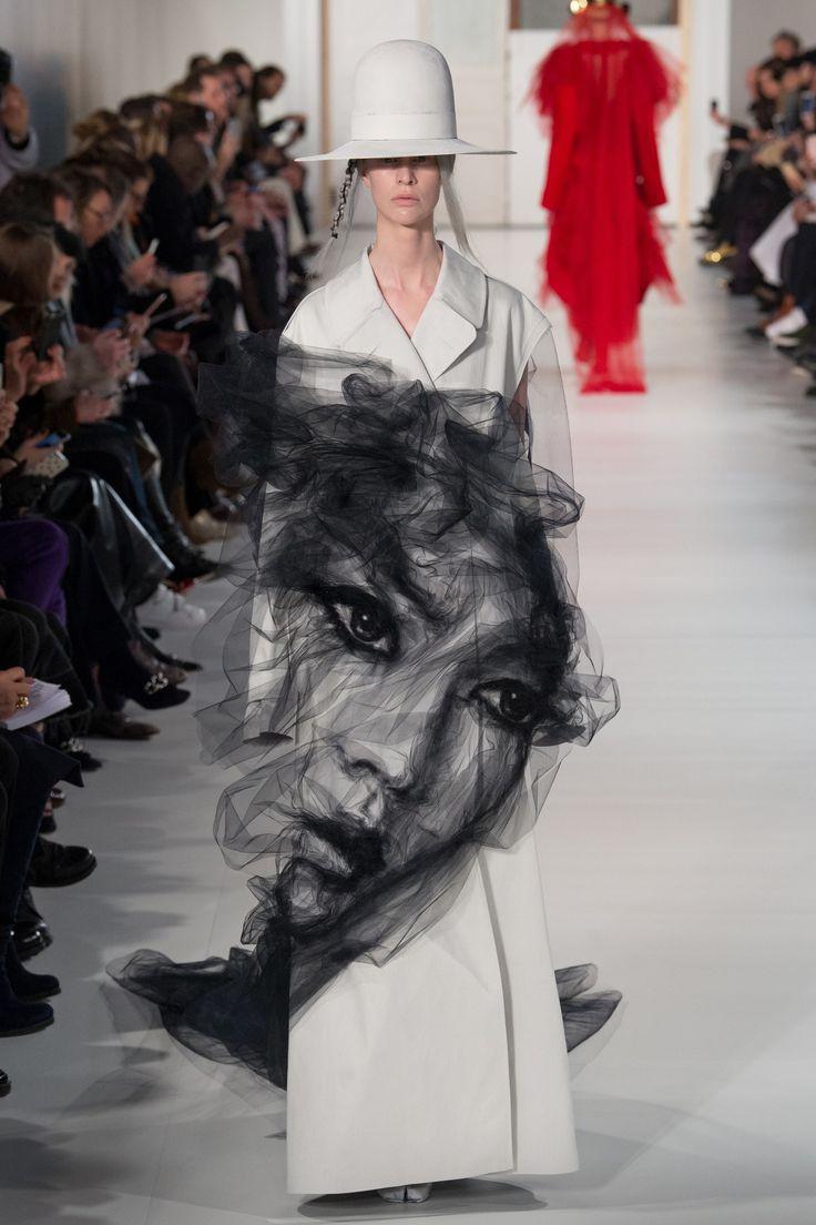 Maison Margiela Spring 2017 Couture Fashion Show - Sarah Abney