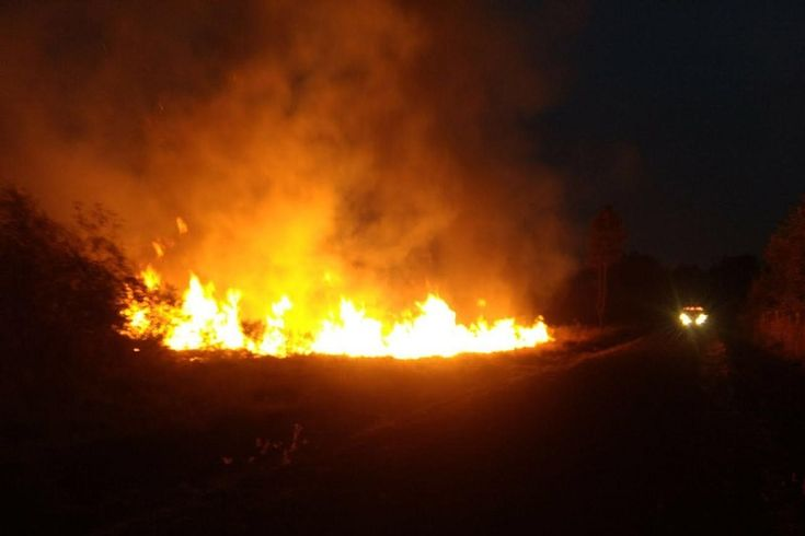 De acuerdo con la ABEM, se quemaron 32 hectáreas de pasto al interior y exterior del Aeropuerto Ignacio López Rayón; el siniestro se reportó desde las 16:00 horas del 23 ...
