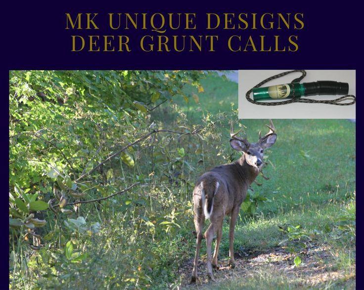 Deer grunt from MK Unique Designs/deer calls #MKUniqueDesigns