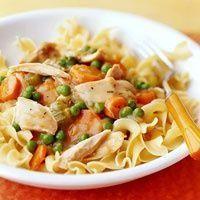 Weight Watcher's Chicken Noodle Casserole