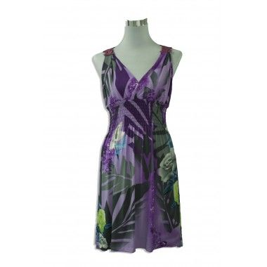Purple/Grey Summer Dress