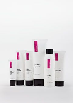 The Skincare Collection cleanses, tones, exfoliates, and moisturizes for a flawless complexion.