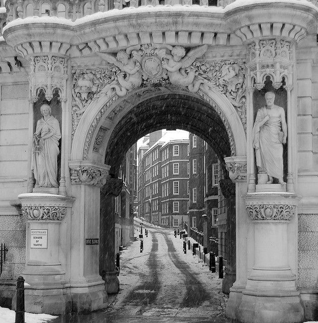 Inner Temple by Louise Blackwood, London. The Inner Temple is one of four Inns of Court. Full history here