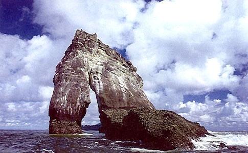 Parque Isla Gorgona in Colombia