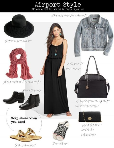 Travel Outfit Cold To Warm Airport Style 29 Ideas