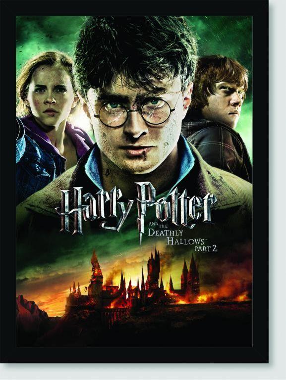 Quadro Poster Filme Harry Potter E As Reliquias Da Morte 12 Harry Potter Filme Harry Potter Filmes