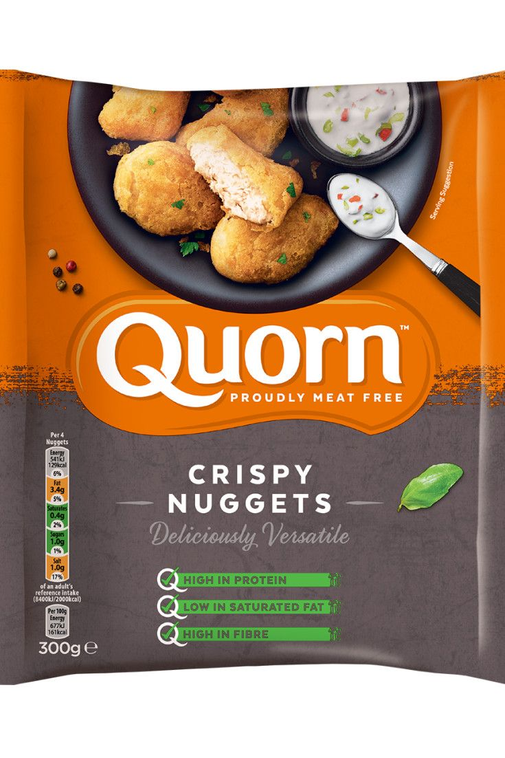 When you fancy a quick snack, try some delicious Quorn meat free Chicken Nuggets. Healthier, meat free versions of your favourites. Click here to discover.