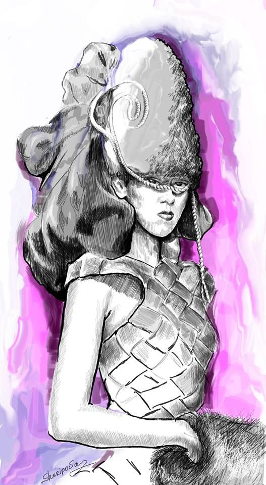 #fashion illustrations #fashion #moda #elina #sheripova #art #fashion show